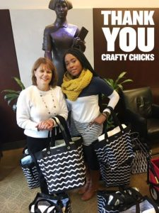Crafty Chicks Donation Pic